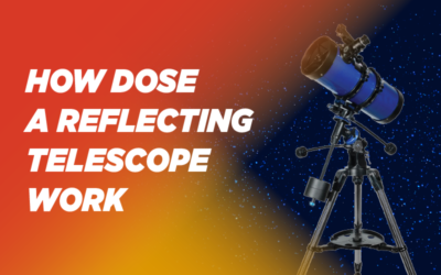 How does a reflecting telescope work?