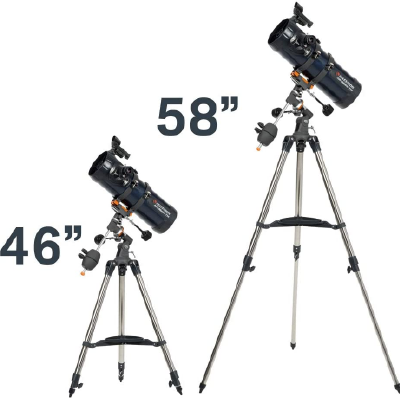 Celestron AstroMaster 114EQ Newtonian Telescope Setting Up Process