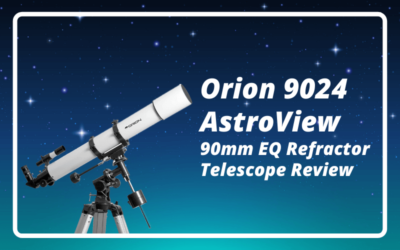 Orion 9024 AstroView 90mm EQ Refractor Telescope Review