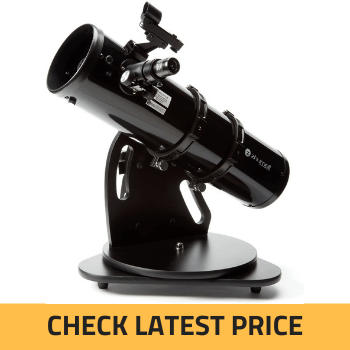 Zhumell Z130 Portable Altazimuth tabletop reflector telescope Review